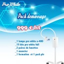 Pack Lampe X400+ 30 Kits Full Pro-white